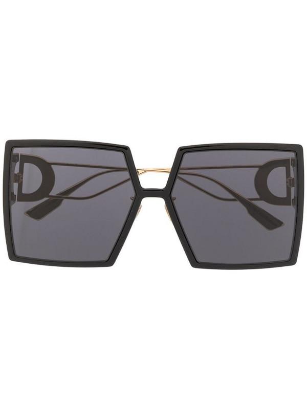 Dior Eyewear 30Montaigne square-frame sunglasses in black