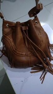 bag,purse,bags and purses,leather fringe bag