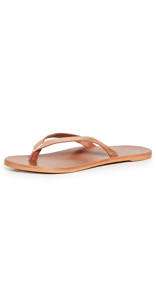 beek Seabird Sandals in tan