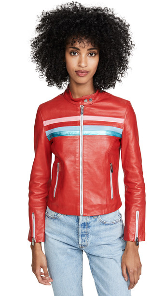 The Mighty Company Kingston Jacket in red