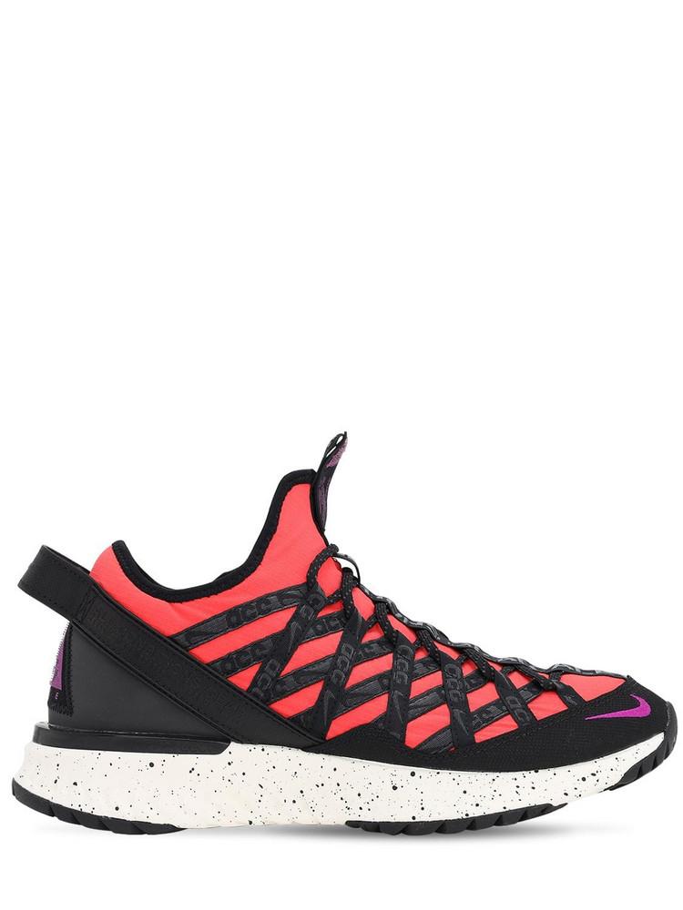 NIKE ACG Acg React Terra Gobe Sneakers in orange / purple