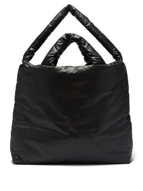 Kassl Editions - Oil Large Padded Rubber Tote Bag - Womens - Black
