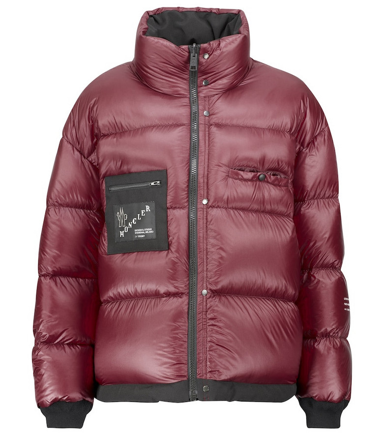 Moncler Genius Alasia down puffer jacket in red
