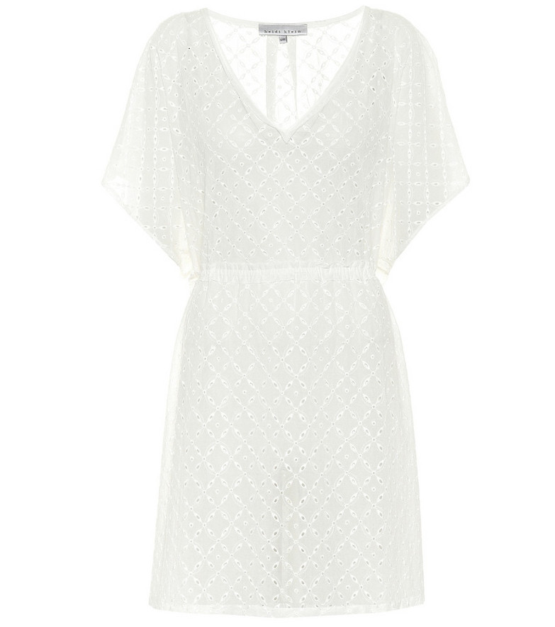 Heidi Klein Cairns cotton kaftan in white