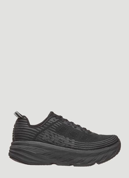 Hoka One One Bondi 6 Sneakers in Black size US - 07