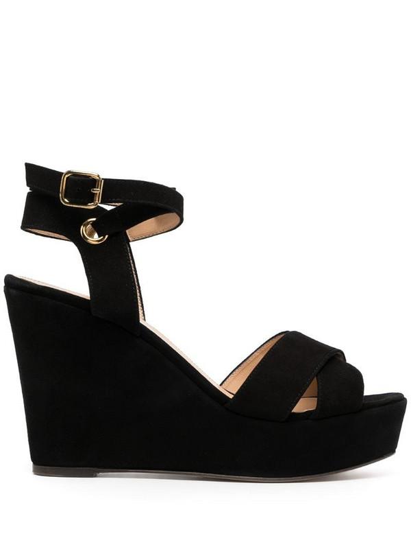 Tila March Cancun sandals in black
