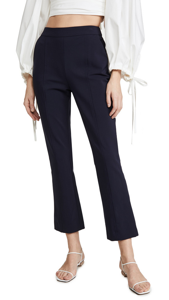 Jonathan Simkhai Joanna Tech Stretch Crop Pants in midnight