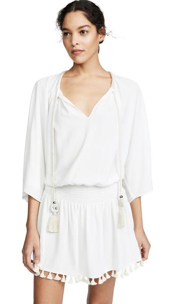 Ramy Brook Katana Dress in white