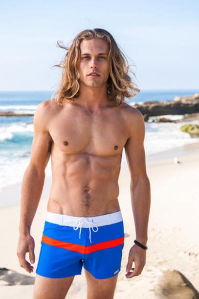 swimwear mens mens swimwear sport stripe retro swimmer bikiniluxe
