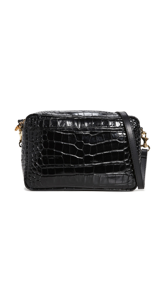 Clare V. Clare V. Marisol Bag with Front Pocket in black