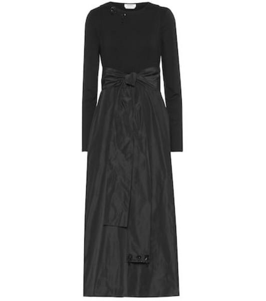 S Max Mara Two-piece dress in black