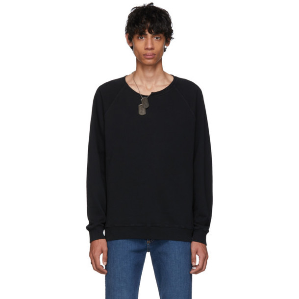 Givenchy Black Necklace Sweatshirt