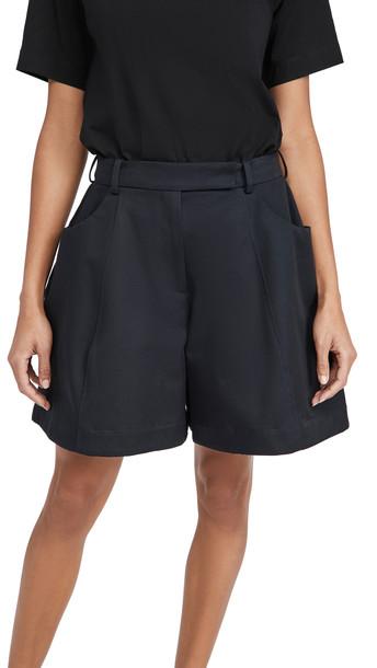 Simone Rocha Sculpted Shorts in navy