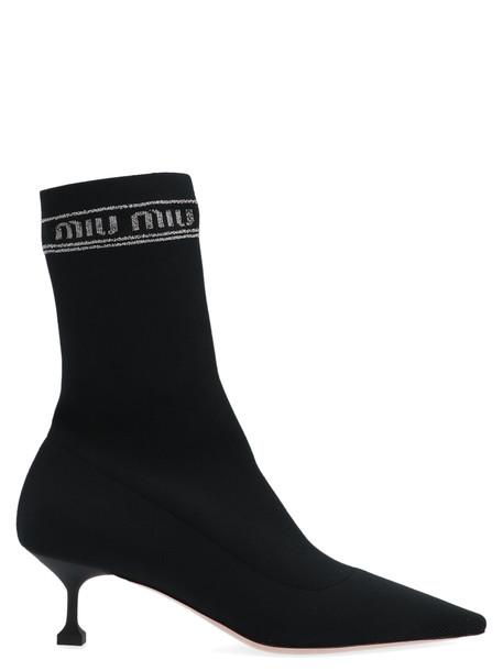 Miu Miu Shoes in black