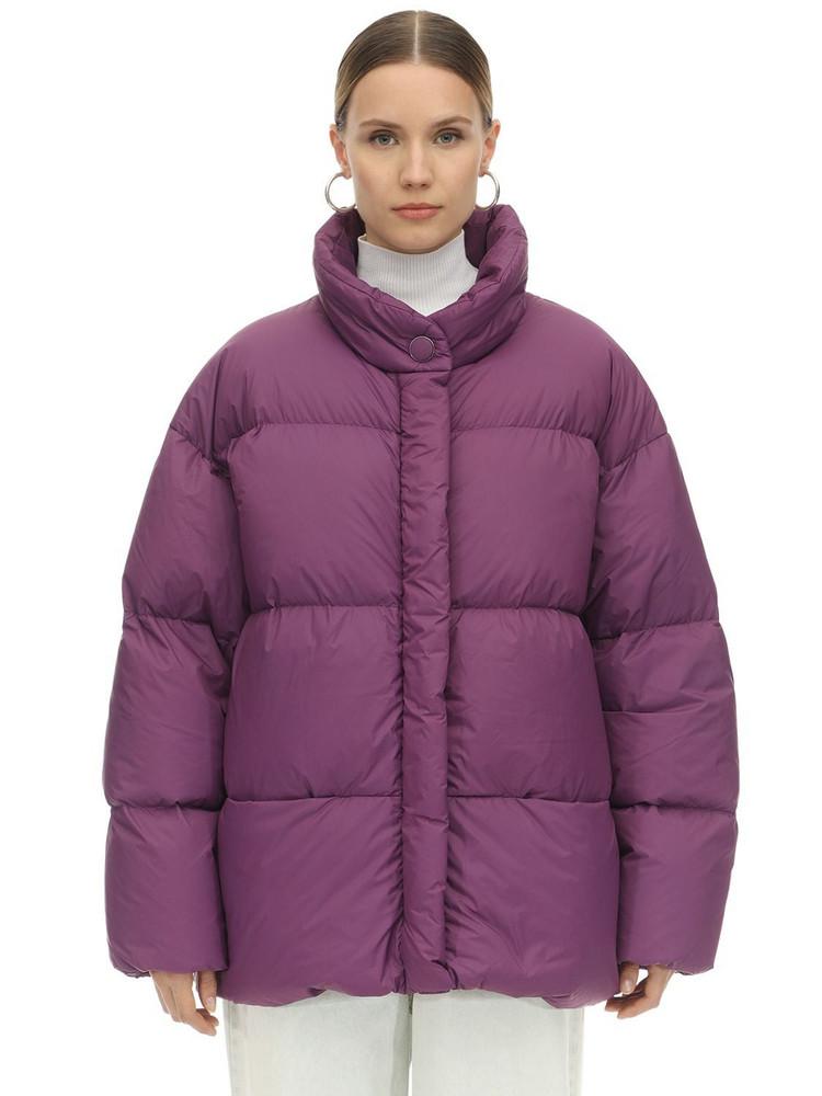 IENKI IENKI Cloud Ultra Light Matte Down Jacket in purple