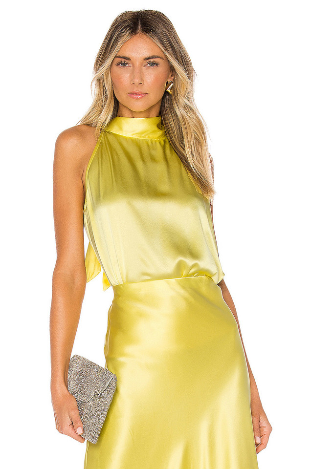 Generation Love Gemma Top in yellow