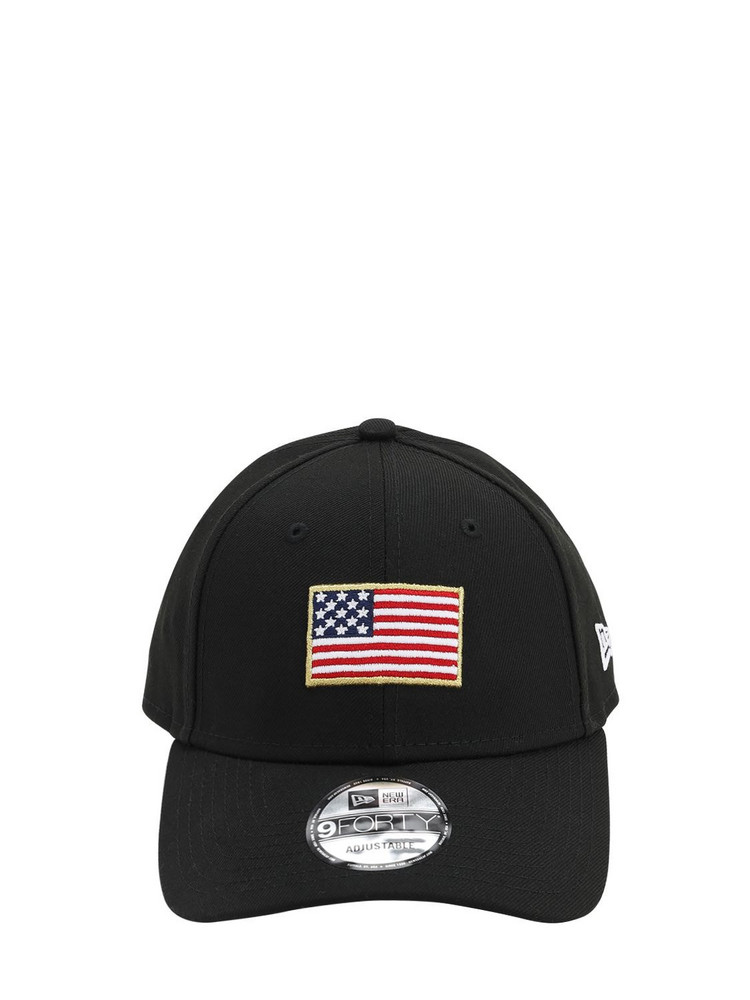 NEW ERA Flagged 9forty Baseball Hat in black
