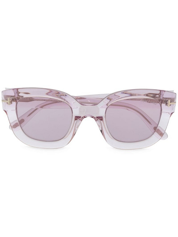 Tom Ford Eyewear square-frame sunglasses in purple