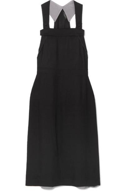 rag & bone - Adrian Twill Midi Dress - Black
