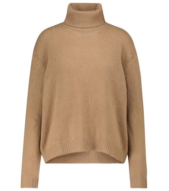 Valentino Cashmere turtleneck sweater in beige