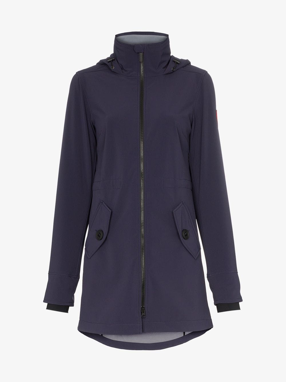Canada Goose Avery hooded jacket in blue