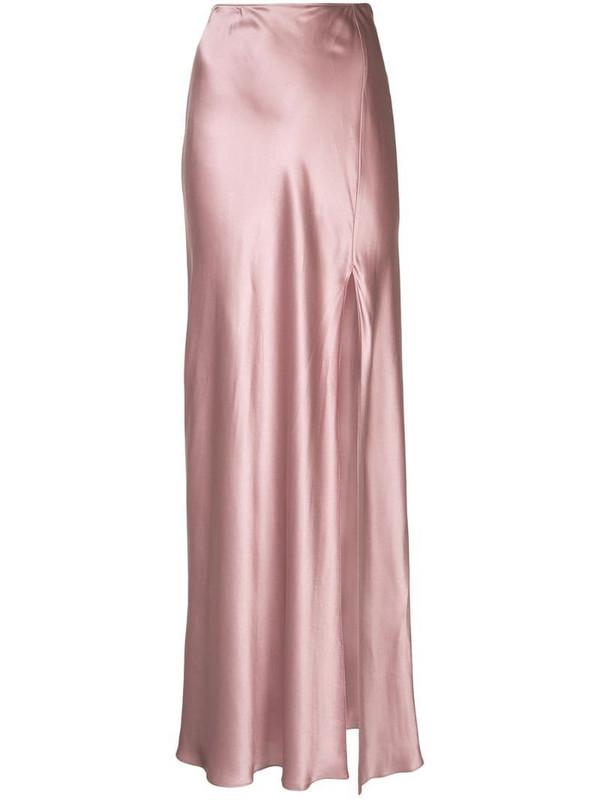 SABLYN Isabella slip skirt in pink