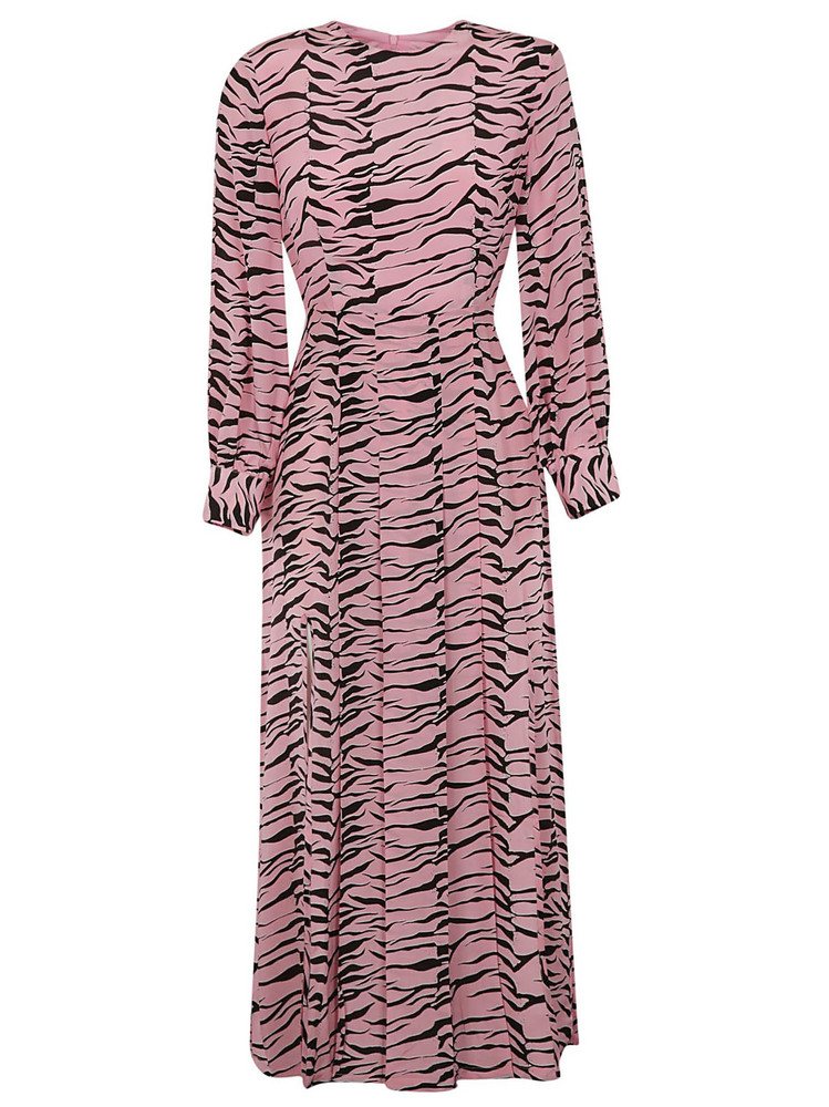 Rixo London Emma Party Dress in black / pink