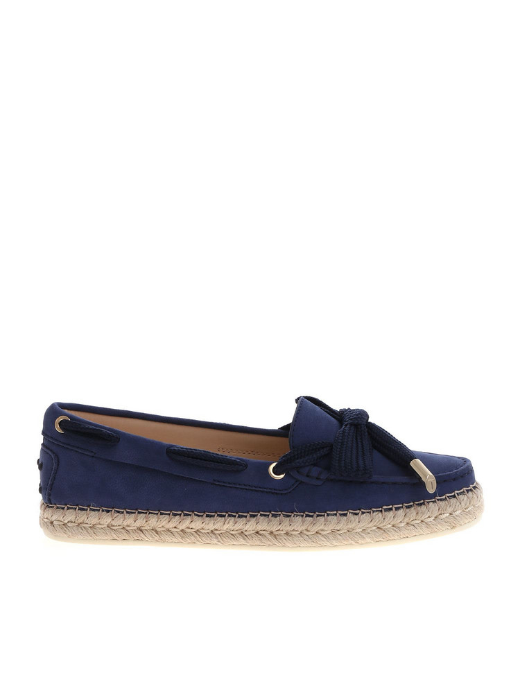 Tod's Moccasin Loafers in blue