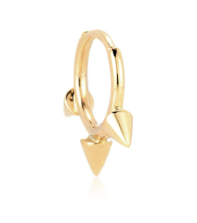 Maria Tash Triple Spike Clicker 14kt gold earring