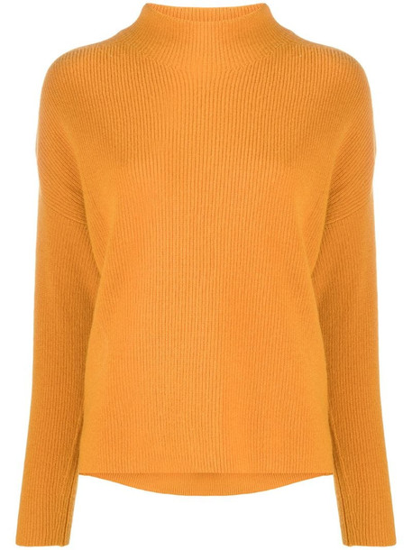 Alice+Olivia high neck jumper in yellow