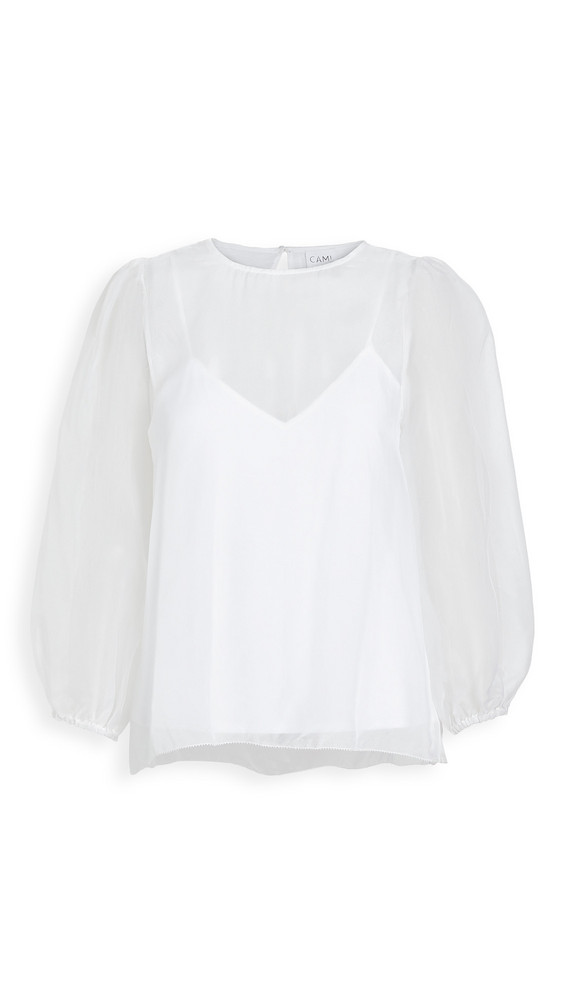 CAMI NYC The Penny Top in white