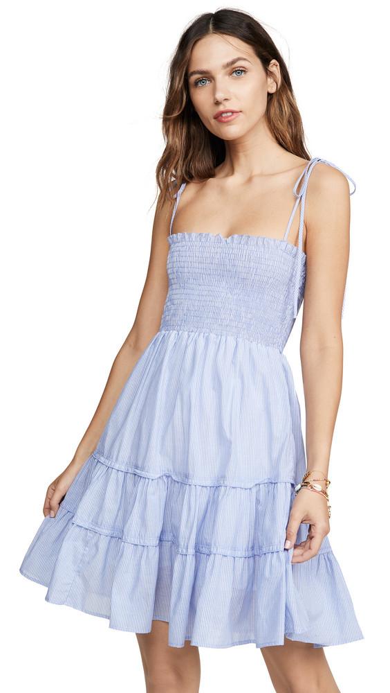 Blue Life Summer Breeze Mini Dress in white