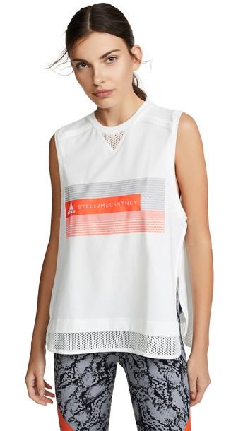 adidas by Stella McCartney Logo Tank in white