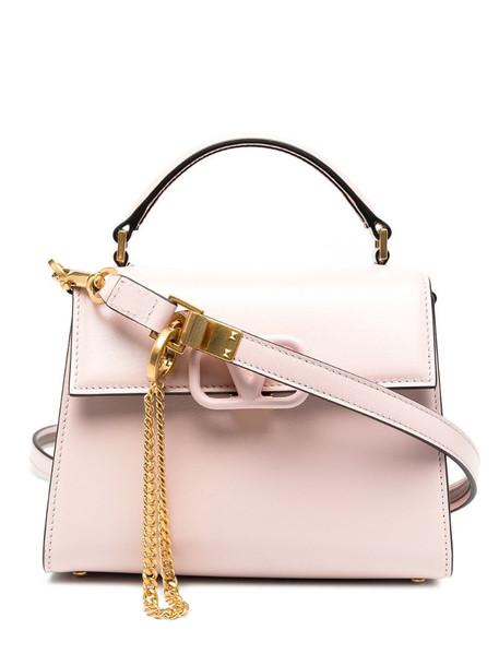 Valentino Garavani VLOGO signature shoulder bag in pink