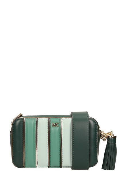 Michael Kors Green Leather Ginny Handbag