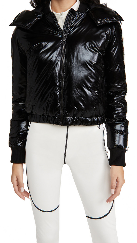 Perfect Moment Star Jacket in black