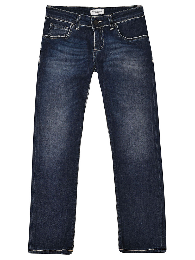 Paolo Pecora Five Pocket Jeans in blue