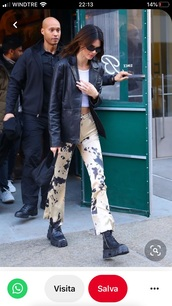 jeans,kendall jenner,pants