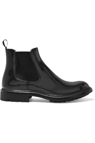 Church's - Genie Glossed-leather Chelsea Boots - Black