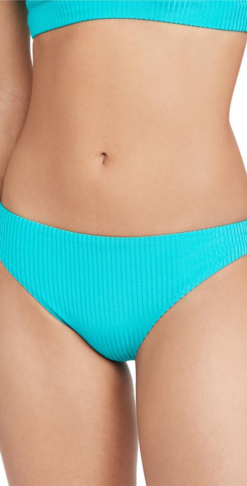 Vitamin A Midori Bikini Bottoms in turquoise