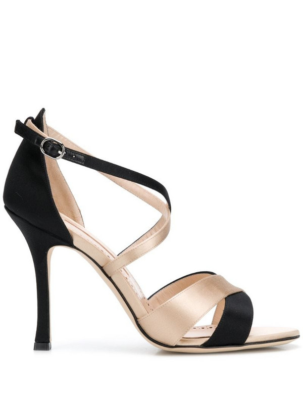 Manolo Blahnik Anna strappy sandals in black