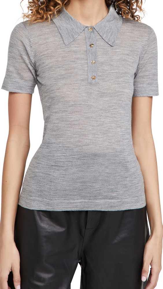 Nanushka Hatti Top in grey