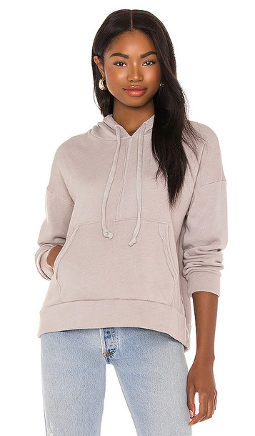 Free People X FP Movement Work It Out Hoodie in Grey