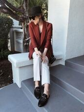 damsel in dior,blogger,jacket,top,pants,shoes