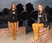 shoes,yellow,gold,crotch boots,fernando berlin,tigh high boots