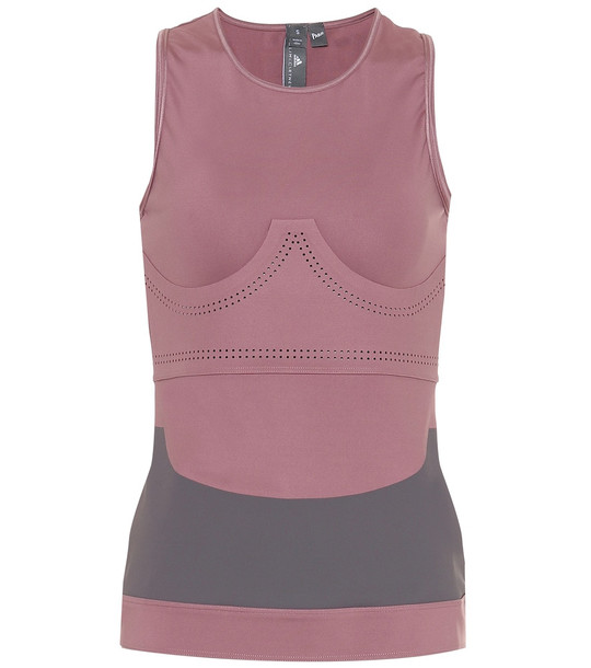 Adidas by Stella McCartney Technical tank top in pink