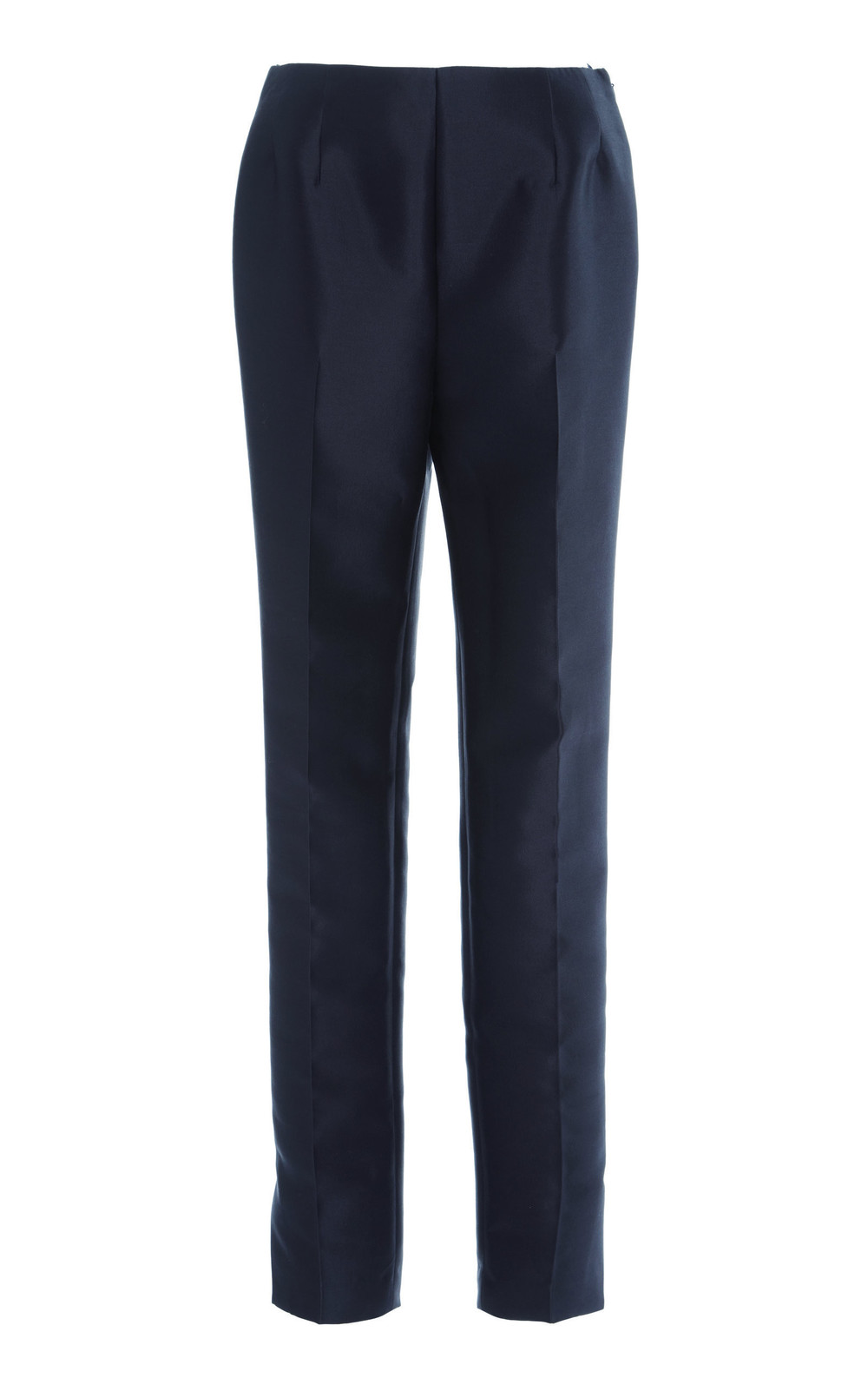 Gabriela Hearst Masto Silk-Blend Tailored Pants in navy