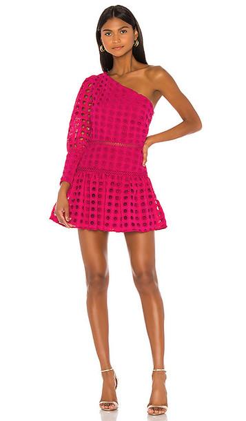 Lovers + Friends Lovers + Friends Isadora Mini Dress in Pink