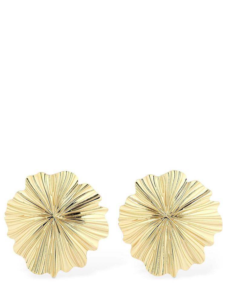 AURELIE BIDERMANN Natosi Clip-on Earrings in gold