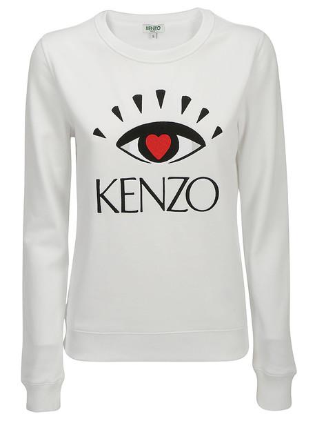 Kenzo Sweatshirt in bianco